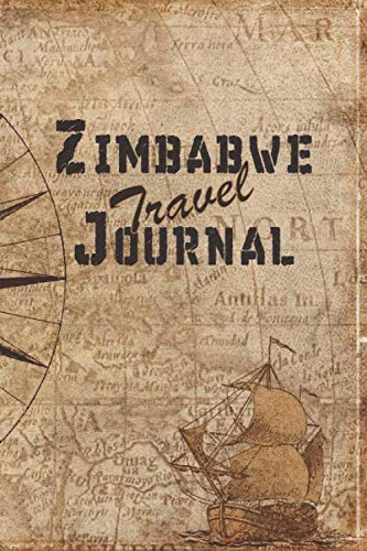 Zimbabwe Travel Journal: 6x9 Travel Notebook with prompts and Checklists perfect gift for your...