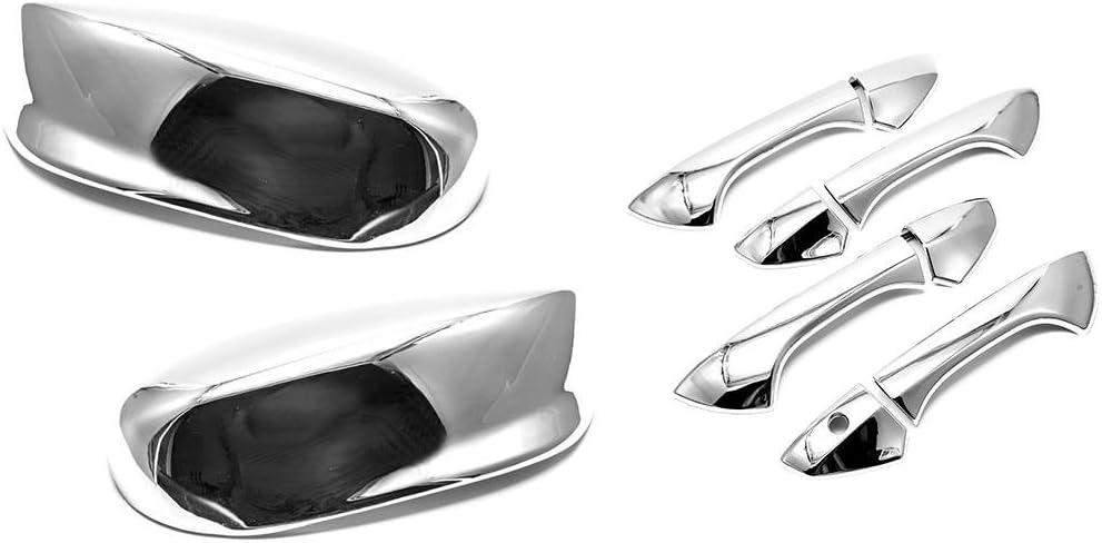 08-12 HONDA ACCORD Chrome plated Full ABS Mirror Cover a pair 2008-2012