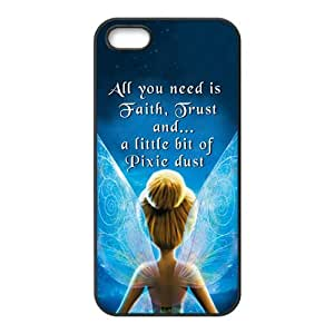 Angel With Wing Cell Phone Case for iPhone 5 5S,Slim and Durable Plastic Case Protective [Ultra Fit] Shock Absorbing and Scratch Resistant Perfect 2 in 1