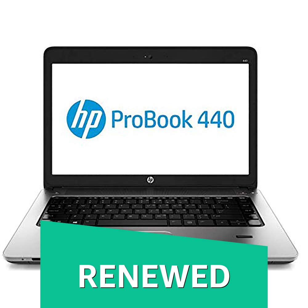 (Renewed) HP Probook 440G1-i5-8 GB-240 GB 14-inch Laptop
