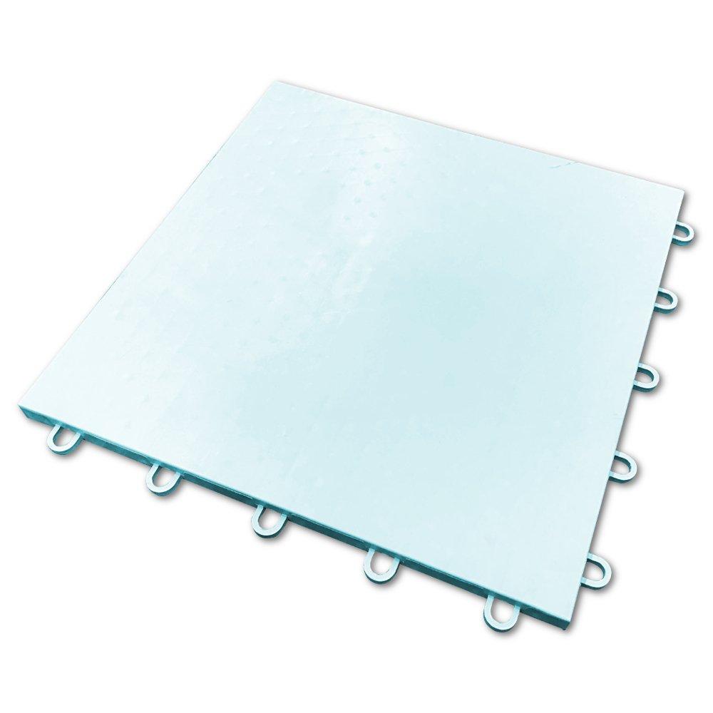 Glacier Tile - Hockey Floor Tiles- 25 Tiles = 25 SF by Hockeytrain.com