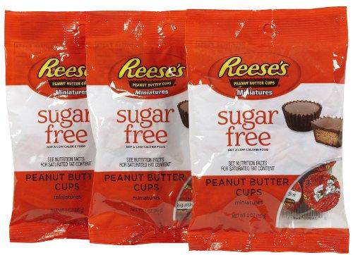 Reese's Sugar Free Peanut Butter Cup Miniatures Peg Bag - 3
