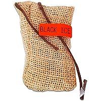Paquete 3 Aromatizante para Auto Duradero Desodorante Carro Costalito (Black ice)