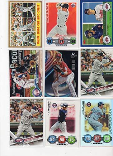 94f2e9c1eb7 Amazon.com  Joe Mauer Collectors Baseball Card Lot w Prospect Card-Minnesota  Twins  Collectibles   Fine Art