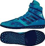 adidas Impact Wrestling Shoes - Turquoise CAMO - 4.5