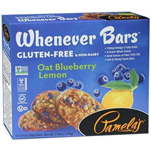 Pamelas Oat Blueberry Lemon Whenever Bars, 15 ct