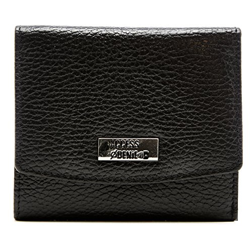 Small Trifold Wallets For Women RFID Blocking - Genuine Leather Credit Card Holder With Coin Purse -