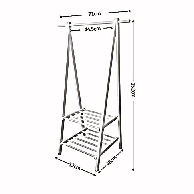 Amazon.com: ZAYYMJ XRXY Solid Wood Simple Coat Rack/Modern ...