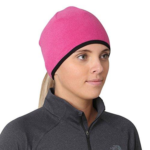 TrailHeads Women's Running Ponytail Hat - Pink/Black
