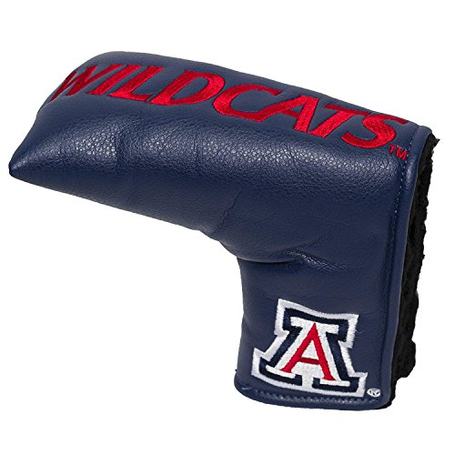 Team Golf NCAA Arizona Wildcats Golf Club Vintage Blade Putter Headcover, Form Fitting Design, Fits Scotty Cameron, Taylormade, Odyssey, Titleist, Ping, Callaway