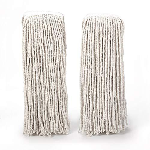 - O-Cedar Heavy Duty Looped-End (2 Pack) String Mop Refill, White