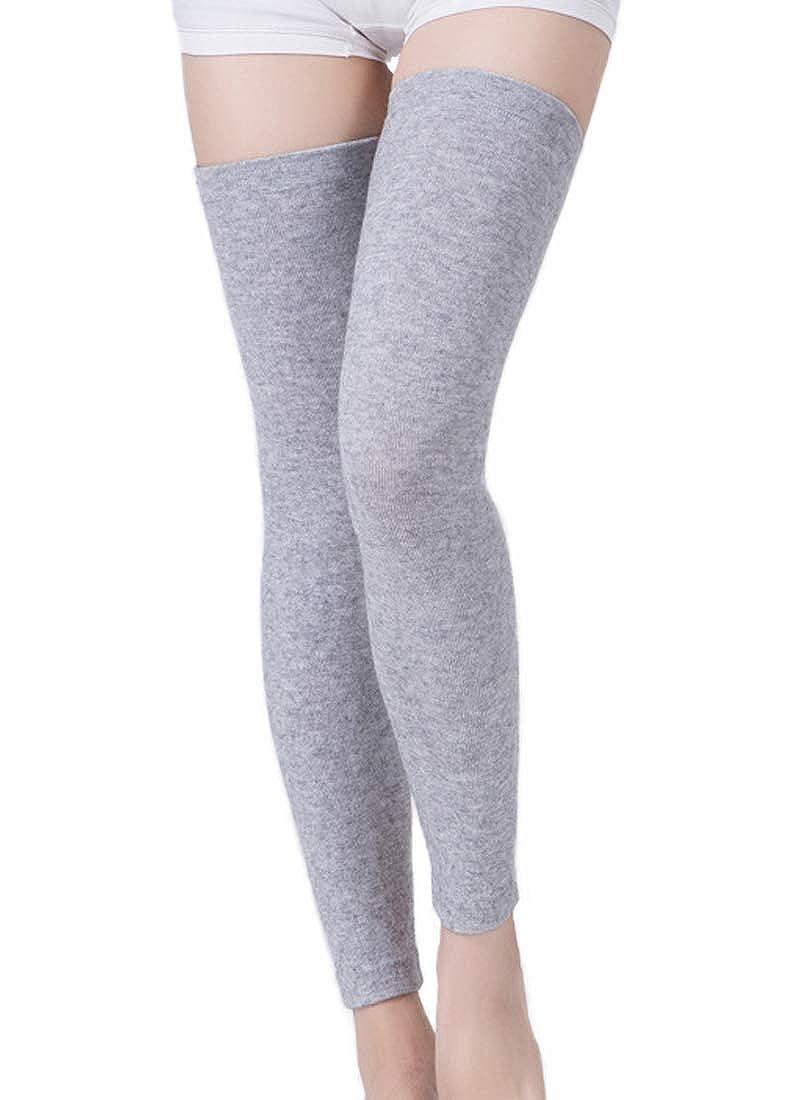 Capturelove Women's Premium Cashmere Knitted Thigh High Leg Warmers