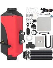 Happybuy 3KW Diesel Air Heater 12V Diesel Parking Heater Muffler Diesel Heater with Knob Switch for RV Bus Car Motorhome Boats