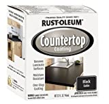 Rust-Oleum 263209 Countertop Coating Premix, 32-Ounce Kit, Black