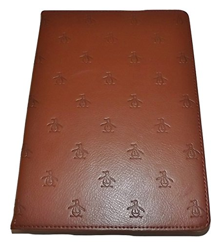 Penguin by Munsingwear Leather iPad Air Protective Carry Case Brown