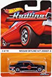 2015 Hot Wheels Redline Nissan Skyline H/T 2000GT-X 2 of 18 Black with Racing Stripes