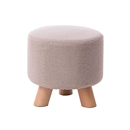 Fine Amazon Com Stool Foot Stool Upholstered Footrest Round Creativecarmelina Interior Chair Design Creativecarmelinacom