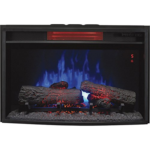 Cheap Chimney Free 25II310GRA SpectraFire Plus Curved Infrared Electric Fireplace Black Friday & Cyber Monday 2019