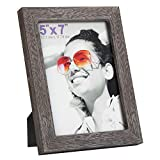 RPJC 5x7 Picture Frames Made of Solid Wood High Definition Glass for Ta Deal (Small Image)