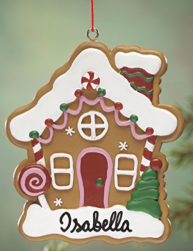 Miles Kimball Personalized Gingerbread House Ornament ()