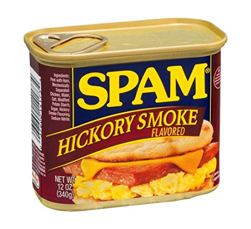 (Spam Hickory Smoke Flavored 12 oz (Pack of 12))
