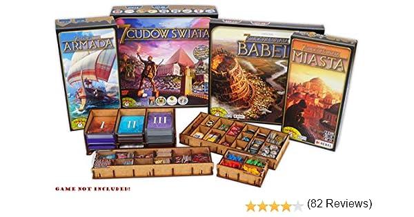 docsmagic.de Organizer Insert for 7 Wonders Box - Encarte: Amazon.es: Juguetes y juegos