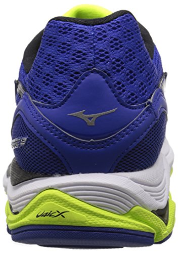 Pictures of Mizuno Men's Wave Inspire 12 Running Surf the Web/Silver 8