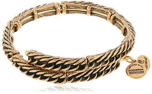 Alex and Ani The Mystical and The Magical Gold Eve Wrap Bracelet made in New England