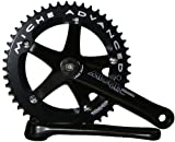 Primato Advanced Track Chainset Black 170 49T