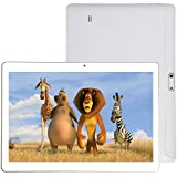 """Macoku Android Tablet PC 10"""" Unlocked 3G Phone Computer Laptop with Dual SIM Card Slots Camera Support 2G 3G WiFi Bluetooth 1GB+16GB MTK 6580 Quad-Core Touch Screen IPS HD 1280x800"""
