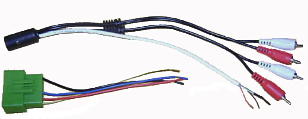 51Mv0mAhUgL._SL1022_ amazon com factory amp interface fits volvo (850, s40, s60, s70  at gsmx.co
