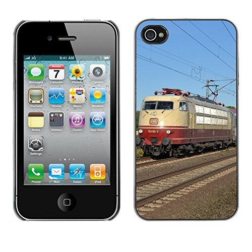 Premio Sottile Slim Cassa Custodia Case Cover Shell // F00012809 entrainer // Apple iPhone 4 4S 4G