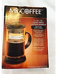 Mr. Coffee 1.1 Quart Black Coffee Press Key Pieces