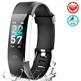 VIEWOW Fitness Tracker HR Activity Tracker Watch - 2019 New IP68 Smart Bracelet with Heart Rate Color Monitor, Step Counter, Calorie Counter, Pedometer Watch with 14 Sports Modes for Kids Women Men