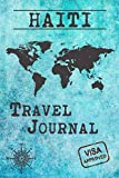 Haiti Travel Journal: Notebook 120 Pages lined 6x9 Vacation Trip Planner Travel Diary Farewell Gift Holiday Planner