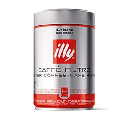 Illy - Filtro de Café Molido para Cafeteras Brow Label - 250g
