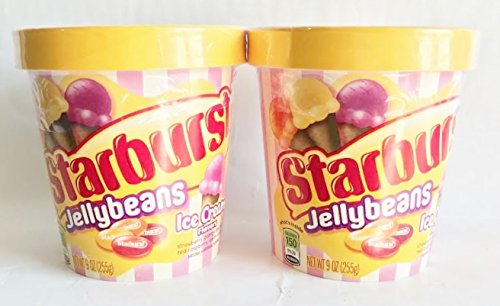 Starburst Jellybeans Candies - Ice Cream Flavors 9 oz.