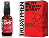 Troxyphen Elite Power Spray | Ultimate Muscle Building Liquid | Improve Strength and Speed Recovery Time | 1 Bottle - 30 Day Supply