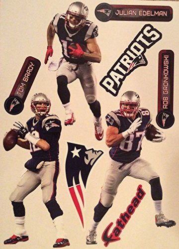 NFL New England Patriots 2015 Team Pack Teammate Logo Fathead
