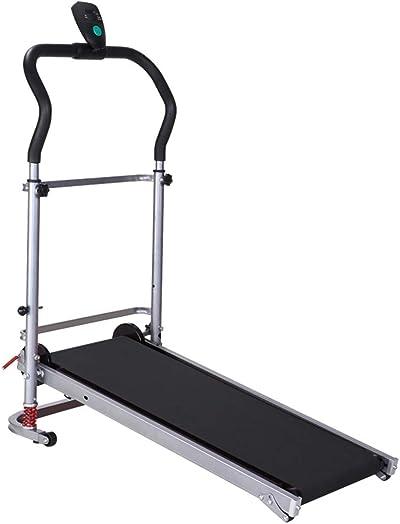 BAOMABA Treadmill Folding Manual Working Machine Cardio Fitness Exercise Incline Home Running Machine