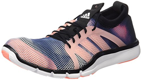 adidas Core Grace, Zapatillas de Running para Mujer Negro / Blanco / Rojo (Negbas / Ftwbla / Brisol)