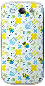 Zing Revolution MS-DMT10415 Despicable Me 2 - Digi Txt Pattern Cell Phone Cover Skin for Samsung Galaxy S III - Retail Packaging - Multicolored