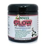 GLOW Original He Shou Wu Extract Powder, 16:1 Concentration, 50 servings, 100g (3.5 oz)