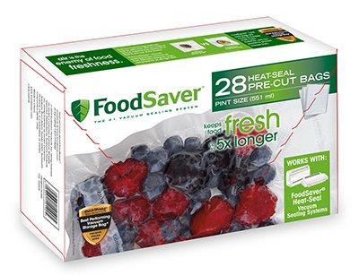 Sunbeam製品fsfsbf0116-np Tilia Pint Foodsaverバッグ、28-count 4 FSFSBF0116-NP B07DDGQRVF