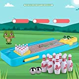 Kanzd Novelty Funny Indoor Game Gas Out Board Game Desktop Games Toy Bowling Kid (A)