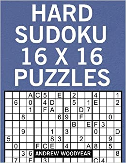 graphic regarding 16 Square Sudoku Printable named Demanding Sudoku 16 X 16 Puzzles (16 X 16 Sudoku Puzzles For