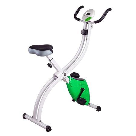 Bangxiu Bicicleta estática de Fitness Unisex Plegable magnético ...