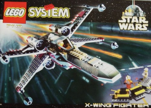 Lego Star wars X-Wing Fighter (Kit Manual Booklet) (7140)