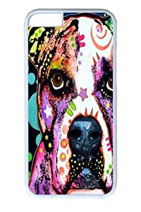 american bull dog Custom Case For HTC One M7 Cover Polycarbonate White