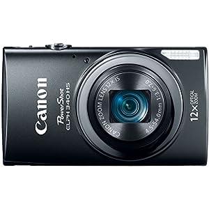 Canon PowerShot ELPH 340 HS 16MP Digital Camera (Black)